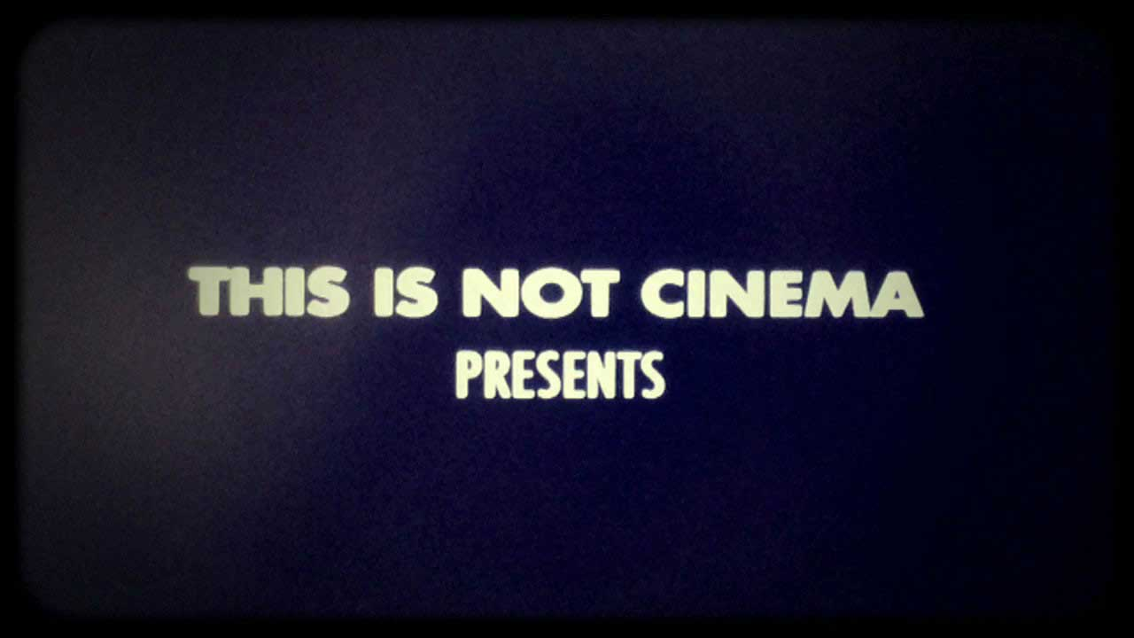 This is not Cinema